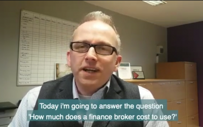 What does a Finance broker Cost?